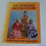 Dolls in National and Folk Costume  by Jean Greenhowe (27-Nov-1986)